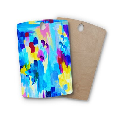 Ebi Emporium Birchwood Don't Quote Me Revisited Cutting Board Shape: Rectangle