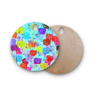 Ebi Emporium Birchwood Speckle Me Dotty Cutting Board Shape: Round