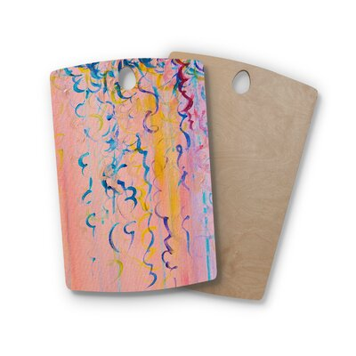 Ebi Emporium Birchwood Cotton Candy Whispers Cutting Board Shape: Rectangle