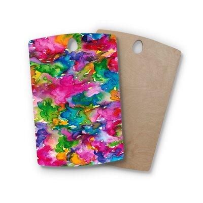 Ebi Emporium Birchwood Summer Swirls Cutting Board Shape: Rectangle