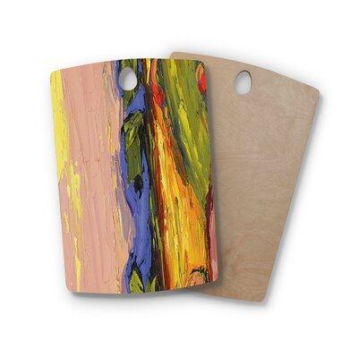 Jeff Ferst Birchwood Pastoral View Multi Painting Cutting Board Shape: Rectangle