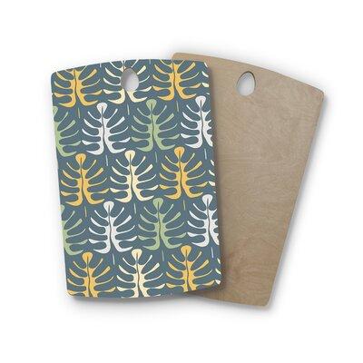 Julia Grifol Birchwood My Leaves on Cutting Board Shape: Rectangle