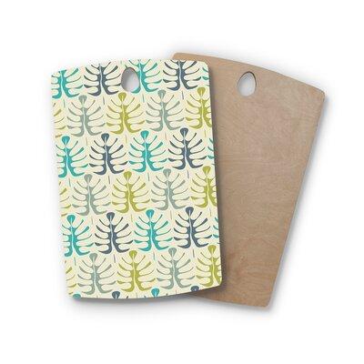 Julia Grifol Birchwood My Leaves Cutting Board Shape: Rectangle