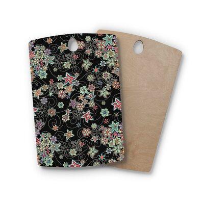 Julia Grifol Birchwood My Small Flowers Floral Cutting Board Shape: Rectangle