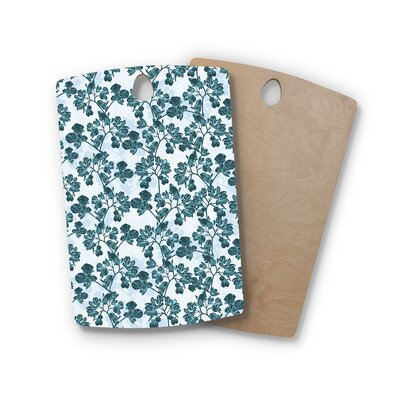 Julia Grifol Birchwood Flowers Cutting Board Shape: Rectangle