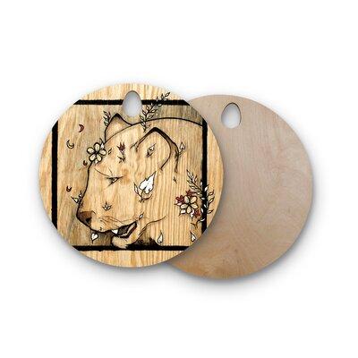 Jennie Penny Birchwood Panther Cutting Board Shape: Round