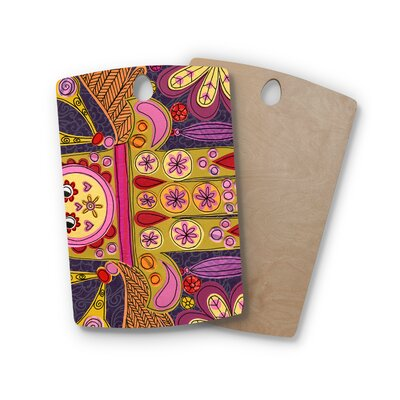 Jane Smith Birchwood Indian Jewelry Cutting Board Shape: Rectangle