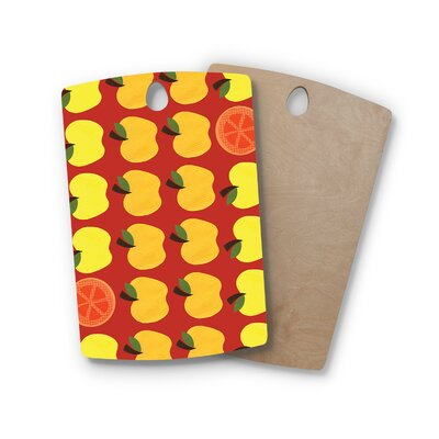 Jane Smith Birchwood Seasons Autumn Cutting Board Shape: Rectangle