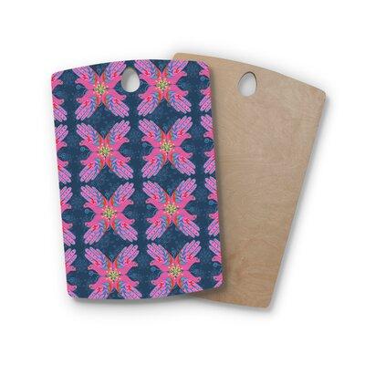 Jane Smith Birchwood Hamsa Pattern Cutting Board Shape: Rectangle