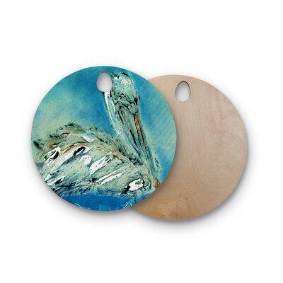 Josh Serafin Birchwood Drifter Cutting Board Shape: Round