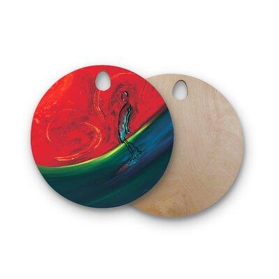 Josh Serafin Birchwood Glide Cutting Board Shape: Round