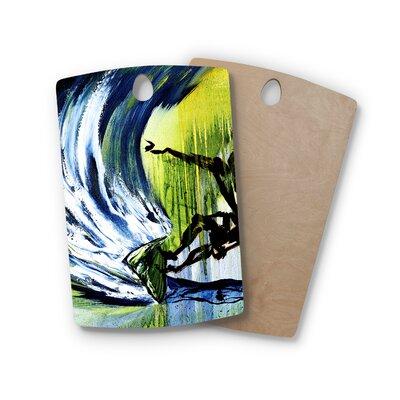 Josh Serafin Birchwood Greenroom Surfer Cutting Board Shape: Rectangle