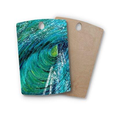 Josh Serafin Birchwood Natural High Cutting Board Shape: Rectangle