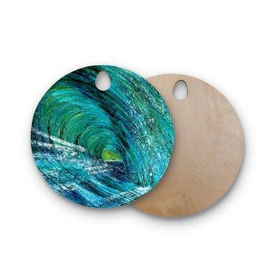 Josh Serafin Birchwood Natural High Cutting Board Shape: Round