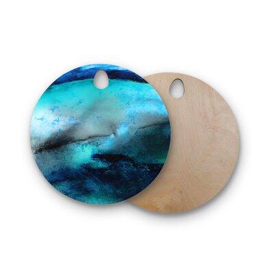Josh Serafin Birchwood Dolphin Cutting Board Shape: Round