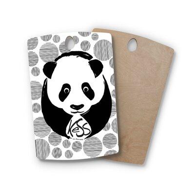 Birchwood Panda Cutting Board Shape: Rectangle
