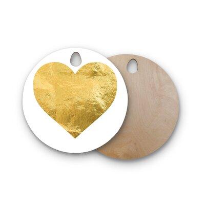 Birchwood Heart Cutting Board Shape: Round