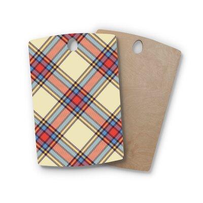 Birchwood Sunday Brunch Plaid Tartan Cutting Board Shape: Rectangle