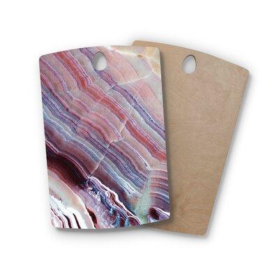 Birchwood Sunrise Agate Cutting Board Shape: Rectangle