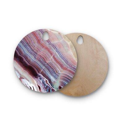 Birchwood Sunrise Agate Cutting Board Shape: Round