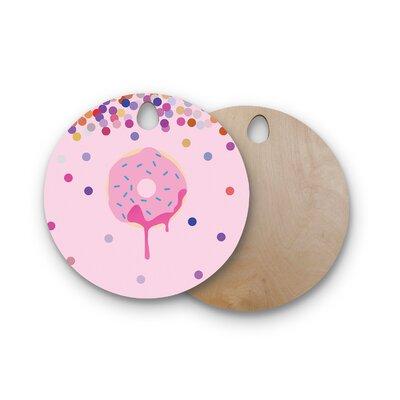 Birchwood Sprinkles Food Cutting Board Shape: Round