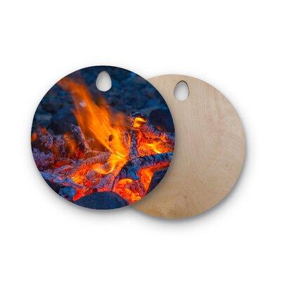 Birchwood Hot Cutting Board Shape: Round