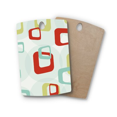 Birchwood Retro Squares Cutting Board Shape: Rectangle