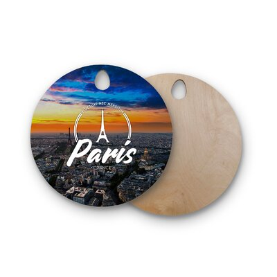 Birchwood Paris Cutting Board Shape: Round