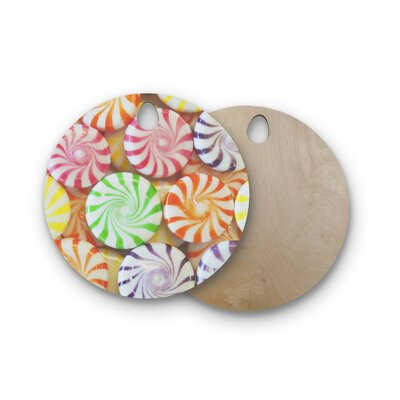 Libertad Leal Birchwood I Want Candy Cutting Board Shape: Round