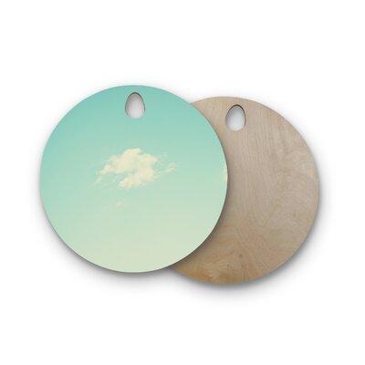 Libertad Leal Birchwood Cloud 9 Sky Cutting Board Shape: Round
