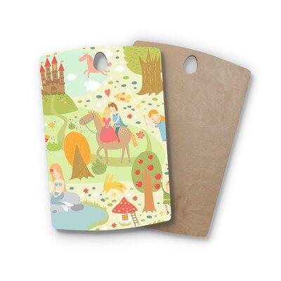 Petit Griffin Birchwood Fairy Tale Fantasy Illustration Cutting Board Shape: Rectangle