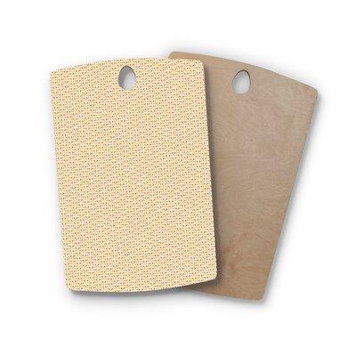 Petit Griffin Birchwood Chevron Cutting Board Shape: Rectangle