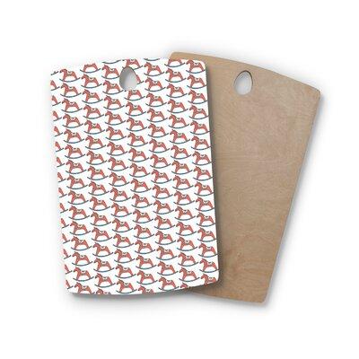 Petit Griffin Birchwood Dala Horse Cutting Board Shape: Rectangle