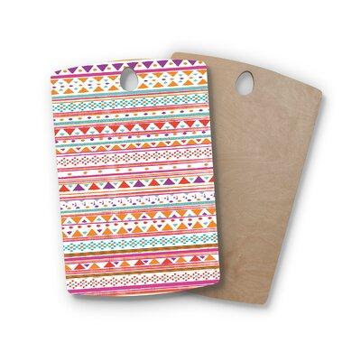 Nika Martinez Birchwood Native Bandana Cutting Board Shape: Rectangle