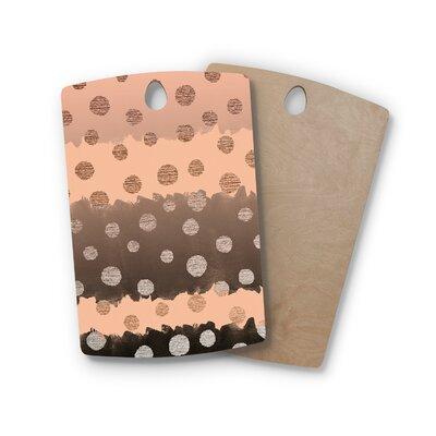 Nika Martinez Birchwood Earth Dots Cutting Board Shape: Rectangle