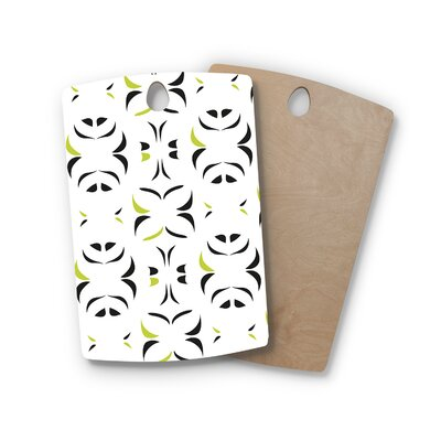 Miranda Mol Birchwood Retro Snow Storm Cutting Board Shape: Rectangle