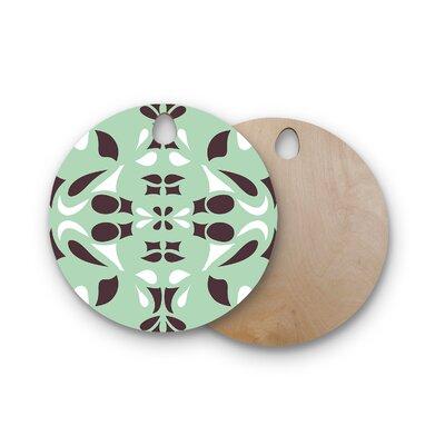 Miranda Mol Birchwood Swirling Cutting Board Shape: Round