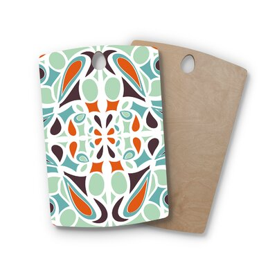 Miranda Mol Birchwood Stained Glass Cutting Board Shape: Rectangle
