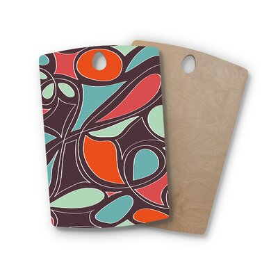 Miranda Mol Birchwood Retro Swirl Cutting Board Shape: Rectangle