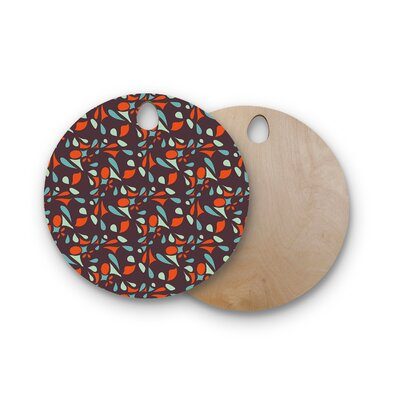 Miranda Mol Birchwood Retro Tile Cutting Board Shape: Round