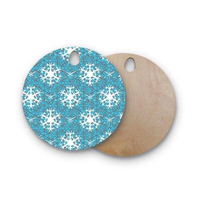Miranda Mol Birchwood Precious Flakes Cutting Board Shape: Round