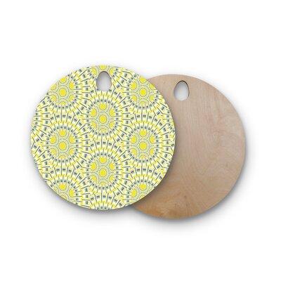 Miranda Mol Birchwood Sprouting Cells Cutting Board Shape: Round