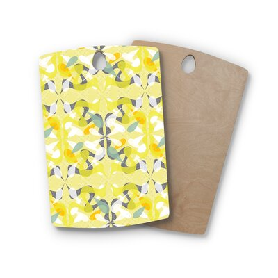 Miranda Mol Birchwood Spring Flourish Cutting Board Shape: Rectangle
