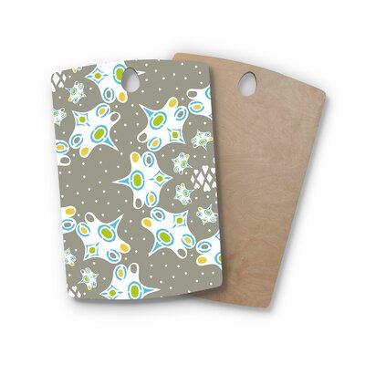 Miranda Mol Birchwood Ornamental Splash Cutting Board Shape: Rectangle