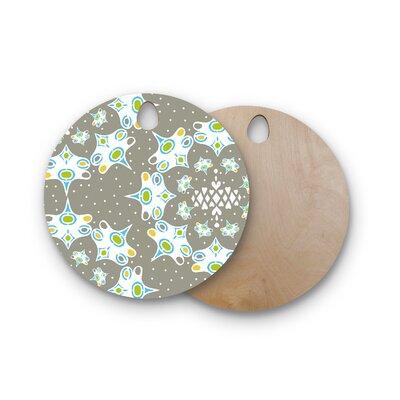 Miranda Mol Birchwood Ornamental Splash Cutting Board Shape: Round