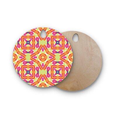 Miranda Mol Birchwood Summer Vibes Cutting Board Shape: Round