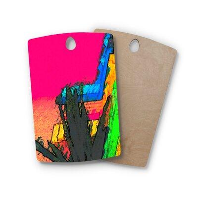 Oriana Cordero Birchwood Days of Summer Abstract Cutting Board Shape: Rectangle