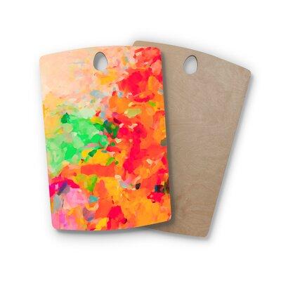 Oriana Cordero Birchwood La Rochelle Abstract Cutting Board Shape: Rectangle