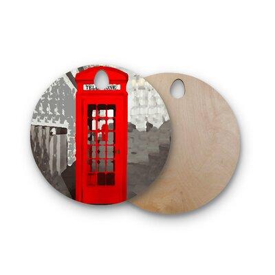 Oriana Cordero Birchwood London Cutting Board Shape: Round