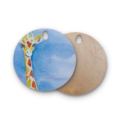 Padgett Mason Birchwood Topsy Cutting Board Shape: Round